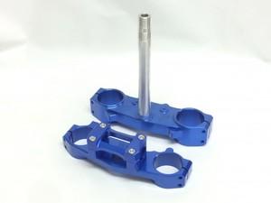 CRF250L 超軽量クランプセット(大径バー用)BLU